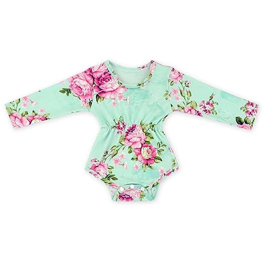 Amazon Com Hollyhorse 2pcs Baby Girl Clothes Newborn Floral Baby