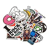 PC Hardware : StillCool Pack of 200 Stickers Skateboard Snowboard Vintage Vinyl Sticker Graffiti Laptop Luggage Car Bike Bicycle Decals Mix Lot Fashion Cool
