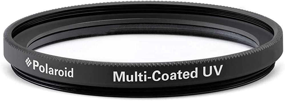 Polaroid Optics 52mm Multi-Coated UV Protective Filter