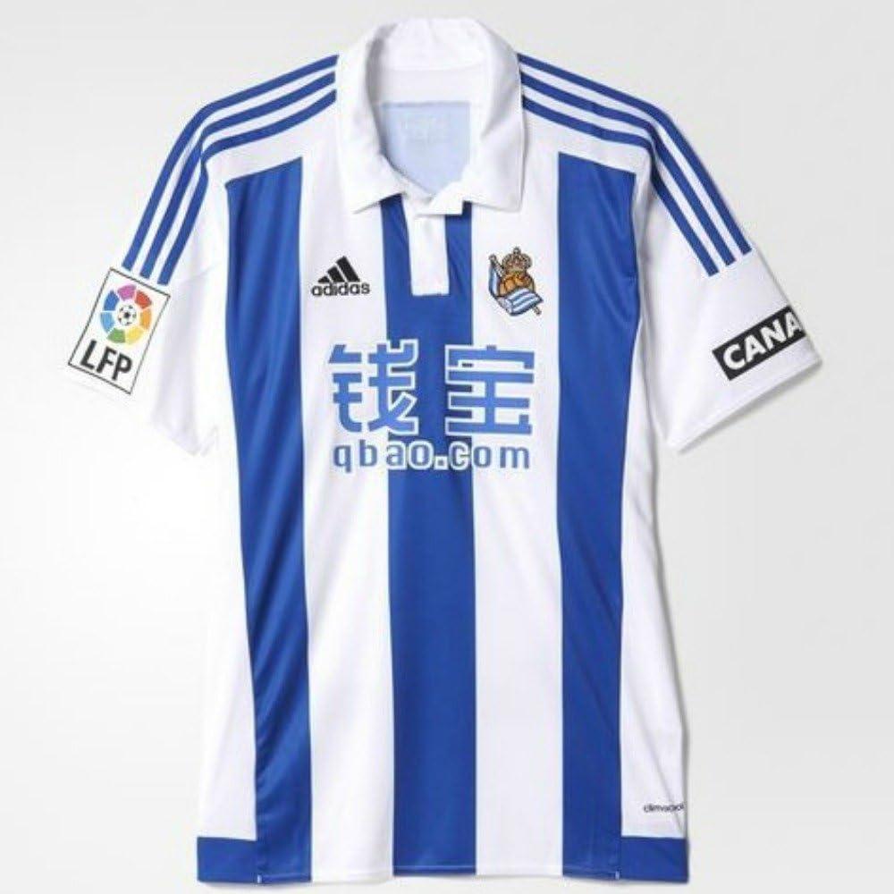 Destino Tumba Generoso  adidas Real Sociedad Home JSY - Camiseta para Hombre, Color Blanco/Azul,  Talla 2XL: Amazon.es: Ropa y accesorios