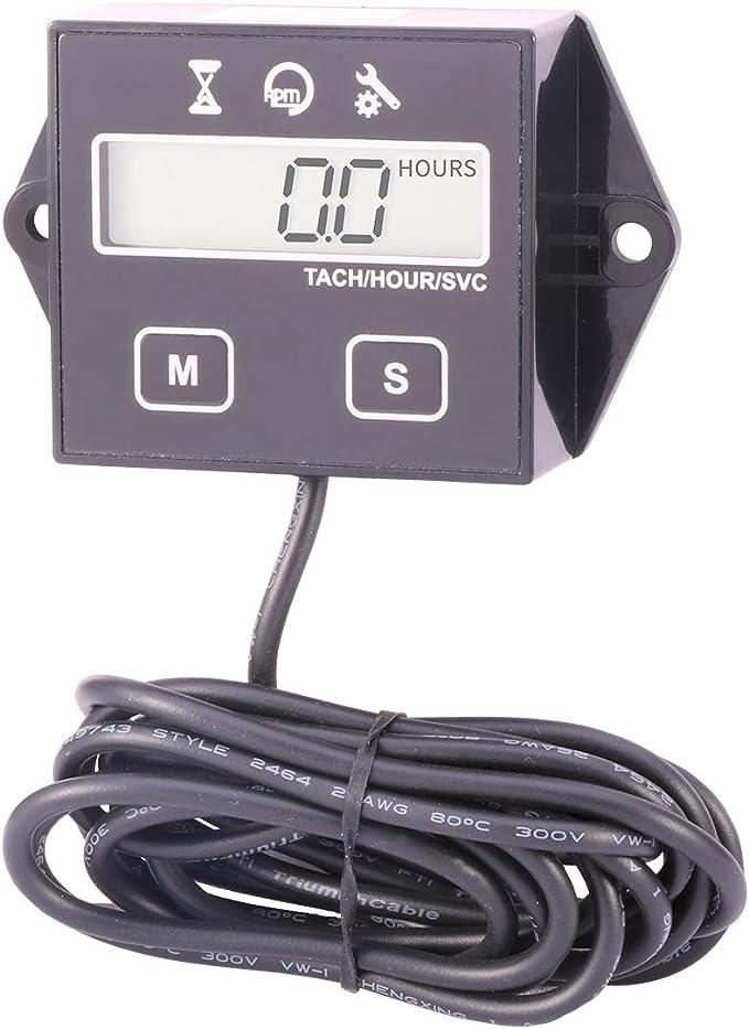 Amazon.com: AIMILAR - Medidor de hora digital para motor ...