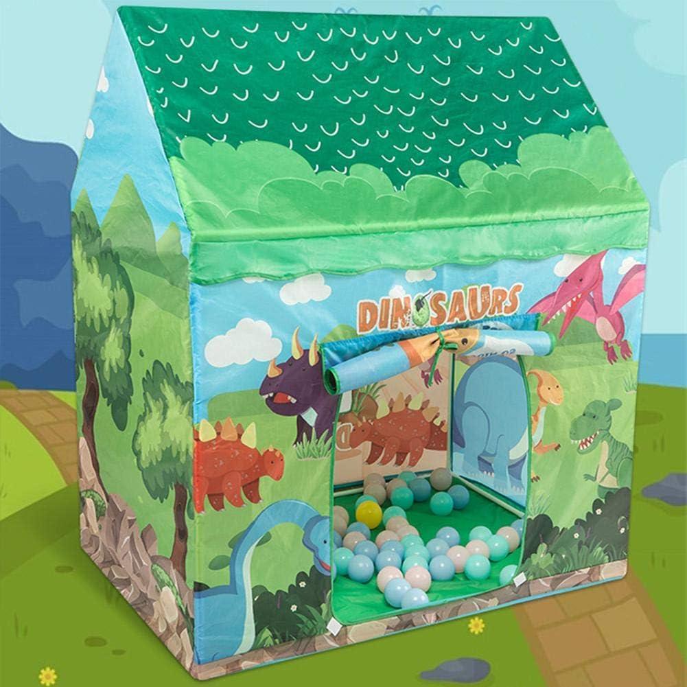N//V Tente Pop-up pour Enfants Tente Maison De Jeux Dinosaure//Cr/ème Glac/ée Jouet Pliable Portatif De Tente De Jeu avec 2 Fen/êtres