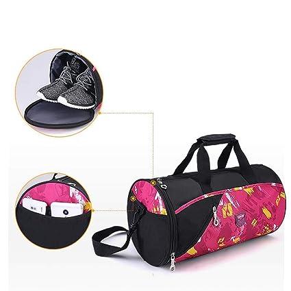 ZSAIMD Sports Gym Bag Fitness para mujeres Hombres Bolsas ...