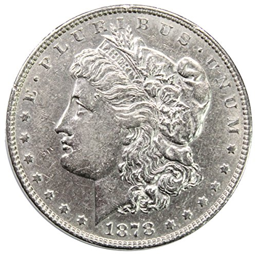 1878 P 7TF Morgan Silver Dollar $1 AU (1878 Morgan Silver Dollar Coins)