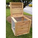 Farmer D Organics Cedar Compost Bin