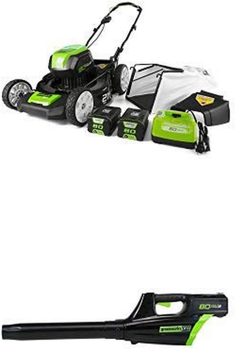 500CFM Cordless Blower Only GreenWorks Pro GBL80320 80V 125 MPH Free Shipping