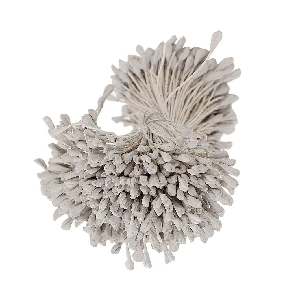 Bleu clair Sharplace 320pcs /Étamine de Fleur pour Fabrication de Carte Scrapbooking Artisant DIY