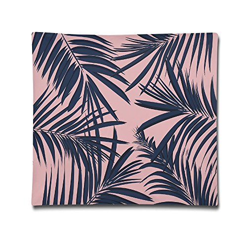 Summer Exotic Floral Tropical Palm Tree Leaf Banana Plant Hawaii Unisex Cartoon Decorative Back Cushion For Office 18