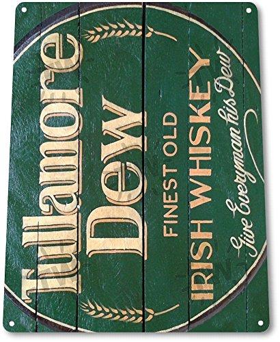 "TIN SIGN ""Tullamore Dew Irish Whisky"