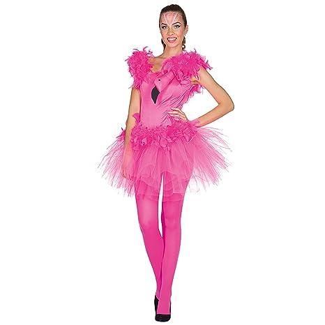 Rubies Traje de Damas Vestido Flamenco Pink Bird Carnival 34 ...