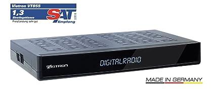 Sintonizador de radio Vistron V855 DVB-C para la televisión por cable de Vodafone,
