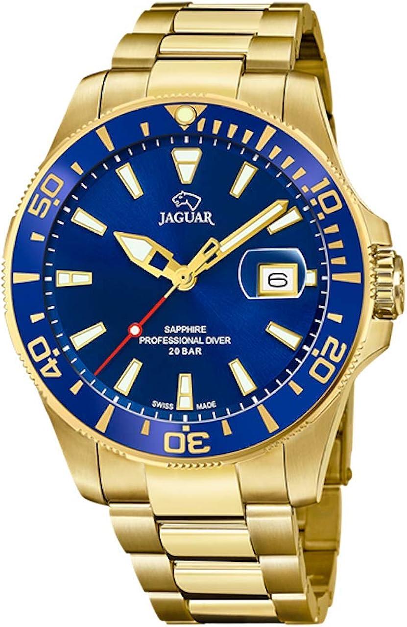 JAGUAR Reloj de Hombre Jaguar Executive cronógrafo, Executive - Hombre Material Cristal Zafiro