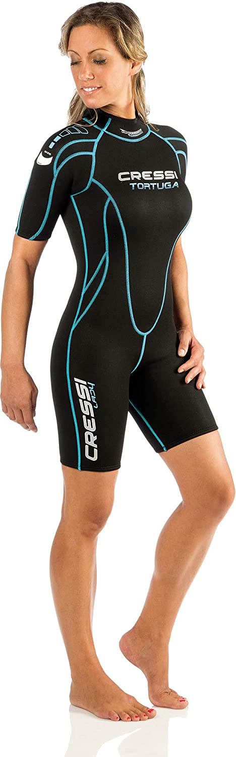 Cressi Shorty Ladies' Wetsuit for Water Activities | Tortuga 2.5mm Premium Neoprene