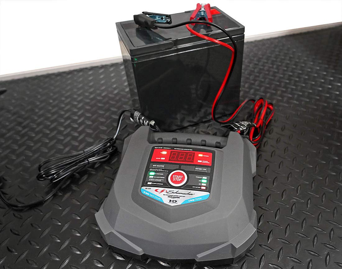 Schumacher SC1280 6/12V Rapid Battery Charger and 15A Maintainer by Schumacher (Image #4)