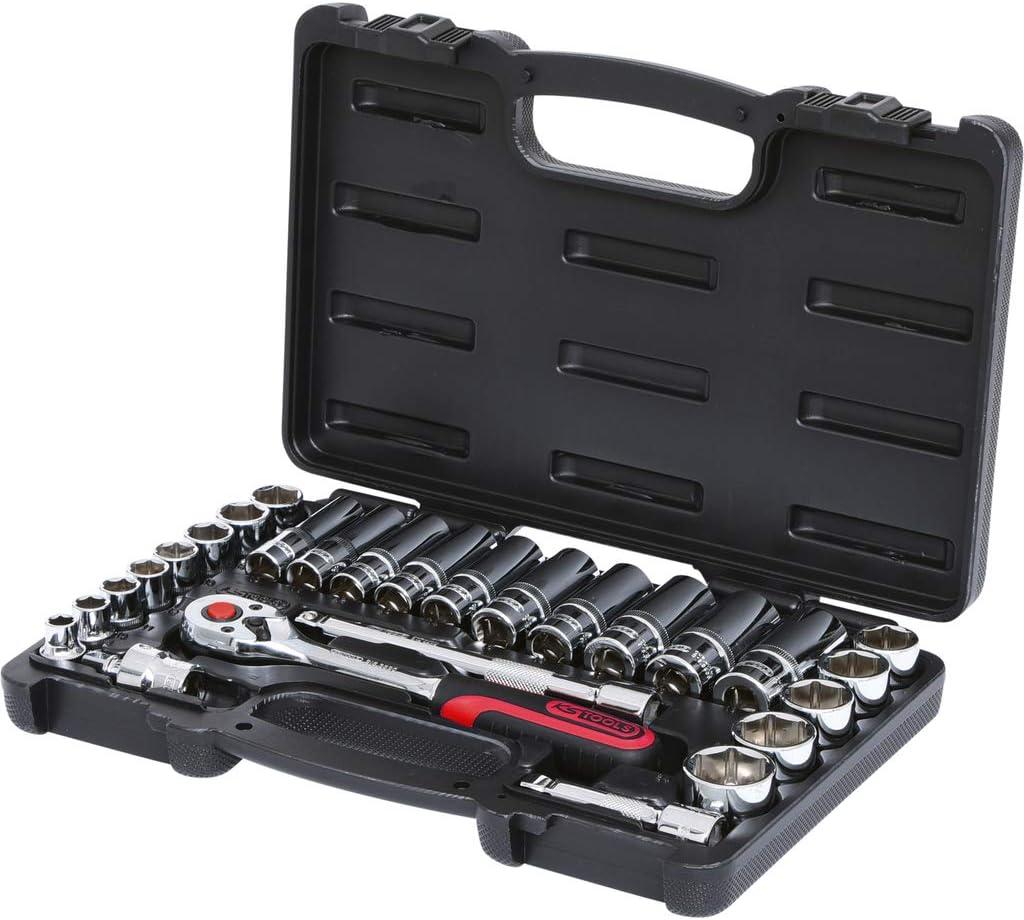 """KS Tools 918.0627 Coffret de douilles 3//8/"""" 27pcs CHROMEplus"""