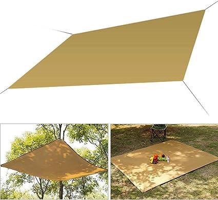 Forart Voile dombrage de Soleil de Triangle de auvent UV imperm/éable am/élior/é de Bloc pour la Plate-Forme ext/érieure de Jardin de pelouse de Patio de Cour