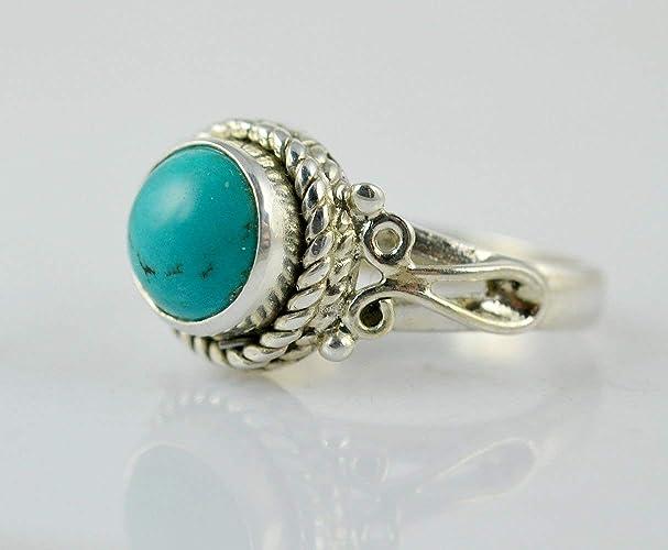 69b4fca15997 Anillo de plata turquesa