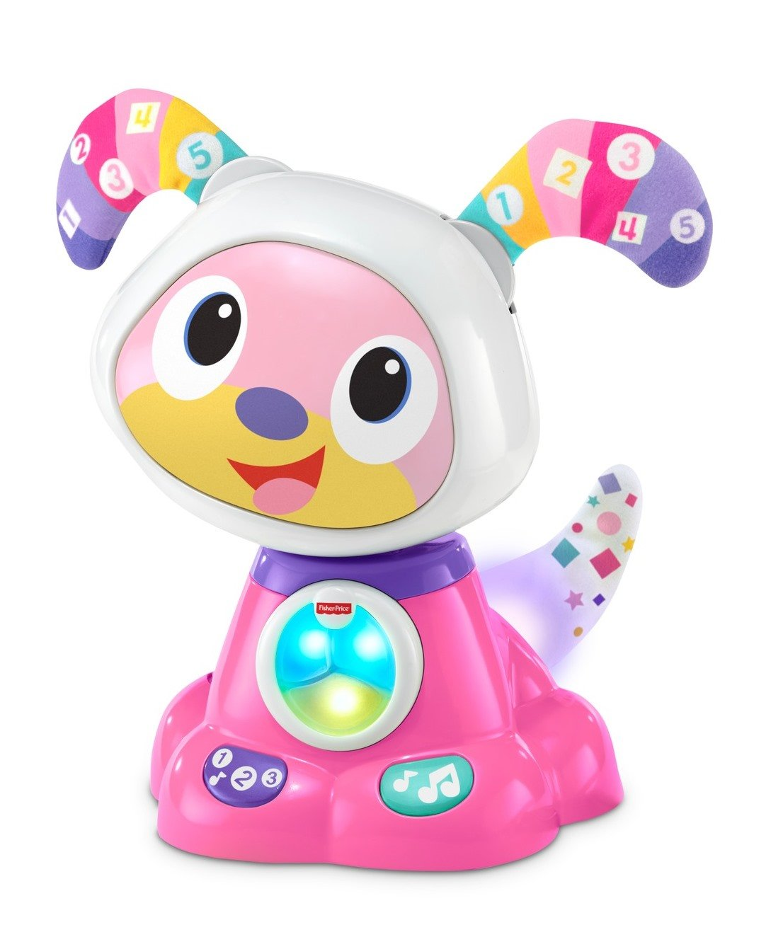 Fisher-Price Bright Beats Dance & Move Beat Bowwow, Pink by Fisher-Price