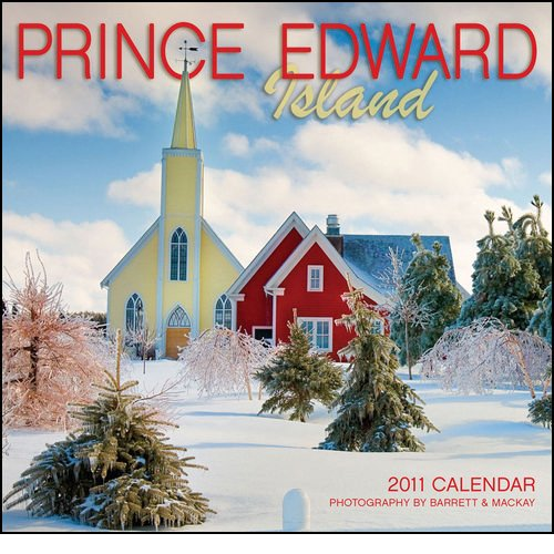 2011 Prince Edward Island - Mini Calendar