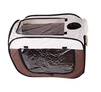 Yiiquanan Caja de Secado de Mascotas Plegable Portátil Cercado para Perrito Secado del Baño Artefacto Caseta