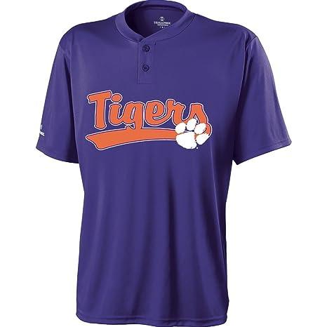 pretty nice 8e6e5 0fbb2 Amazon.com : Holloway Clemson Tigers Ball Park Jersey : Clothing