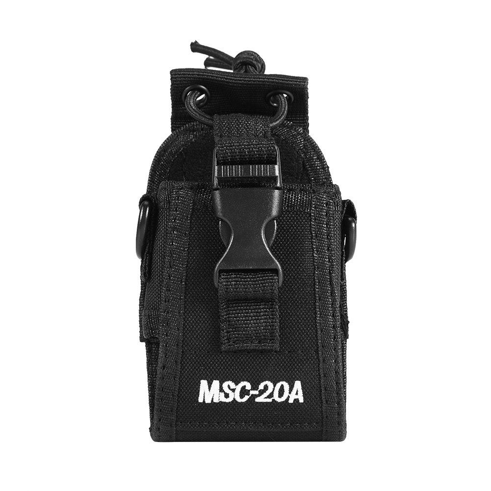 Motorola MSC-20A Multifunktions-Etui f/ür Zwei-Wege-Funkger/ät Walkie-Nylonholster f/ür Kenwood HYT-Funkger/ät