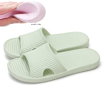 Women/Men's Slip On Slippers Non-slip Shower Sandals House Mule Soft Foams Sole Pool Shoes Bathroom Slide Water Shoes