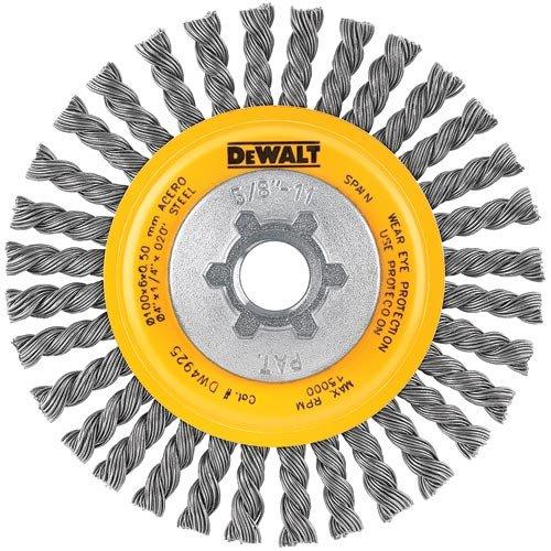 DEWALT DW49201 5-Inch by 5/8-Inch-11 HP .020 Carbon Stringer Wire Wheel