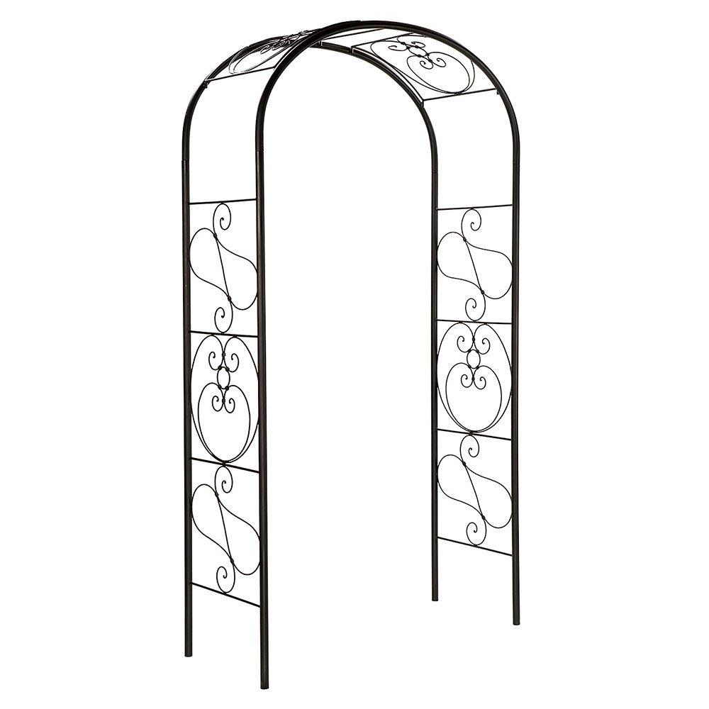 Achla Designs Ferro Firenze Arbor Garden Arch