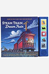Steam Train  Dream Train Sound Book: (Sound Books for Baby, Interactive Books, Train Books for Toddlers, Children's Bedtime Stories, Train Board Books) Hardcover