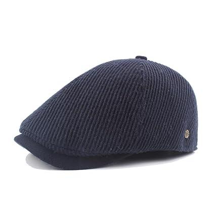 Sannysis Sombreros Hombre Mujer Invierno, bombin Sombrero Sombrero de Copa Sombreros Vintage Ocasionales Gorras Hombre