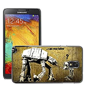 Super Stellar Slim PC Hard Case Cover Skin Armor Shell Protection // M00050912 aero i your am father creative // Samsung Galaxy NOTE 3