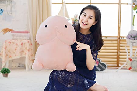 Mangadua 3D Penis Plush Toys Throw Pillow Decorative Cushion 50cm 19.7