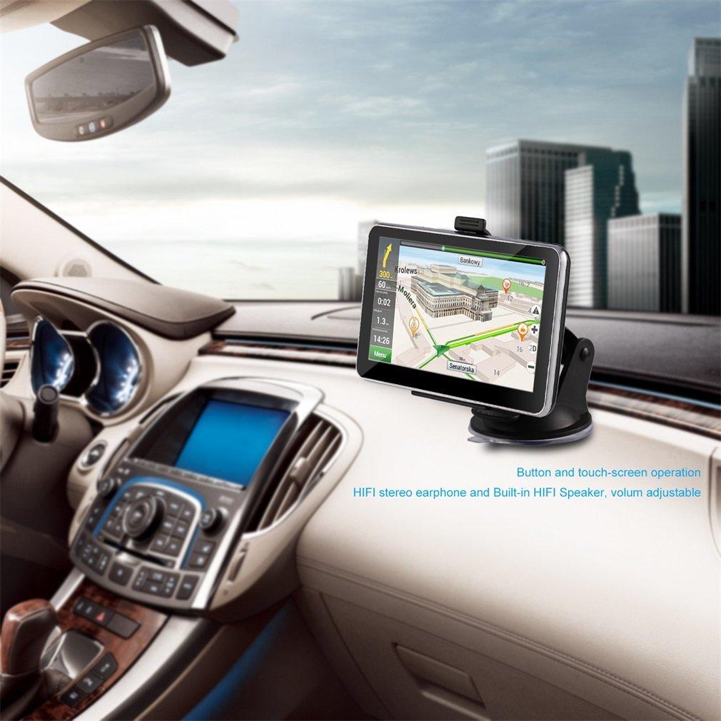Tsing navigation device europe traffic sat nav with free lifetime maps 4g 5 0 inch display europe 45 countries amazon co uk electronics