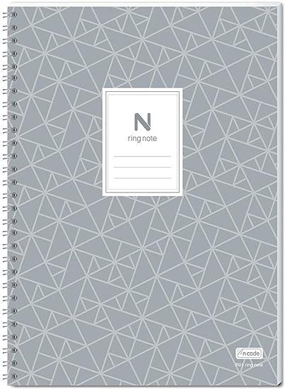 Neolab, Cuaderno con anillos, A5, 50 x 210 mm, pack de 5