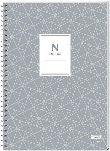 Neolab, Cuaderno con anillos, A5, 50 x 210 mm, pack de 5: Amazon.es: Oficina y papelería