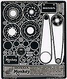 1/12 Honda モンキー125 メカニカルパーツ セット
