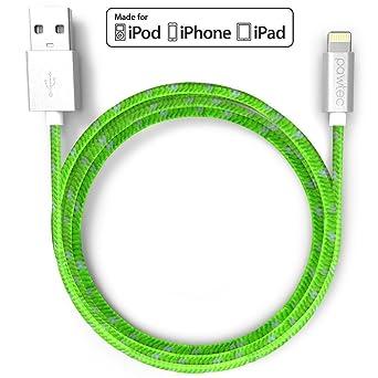 Amazon.com: pawtec [Apple MFi Certificado] Lightning Cable 3 ...
