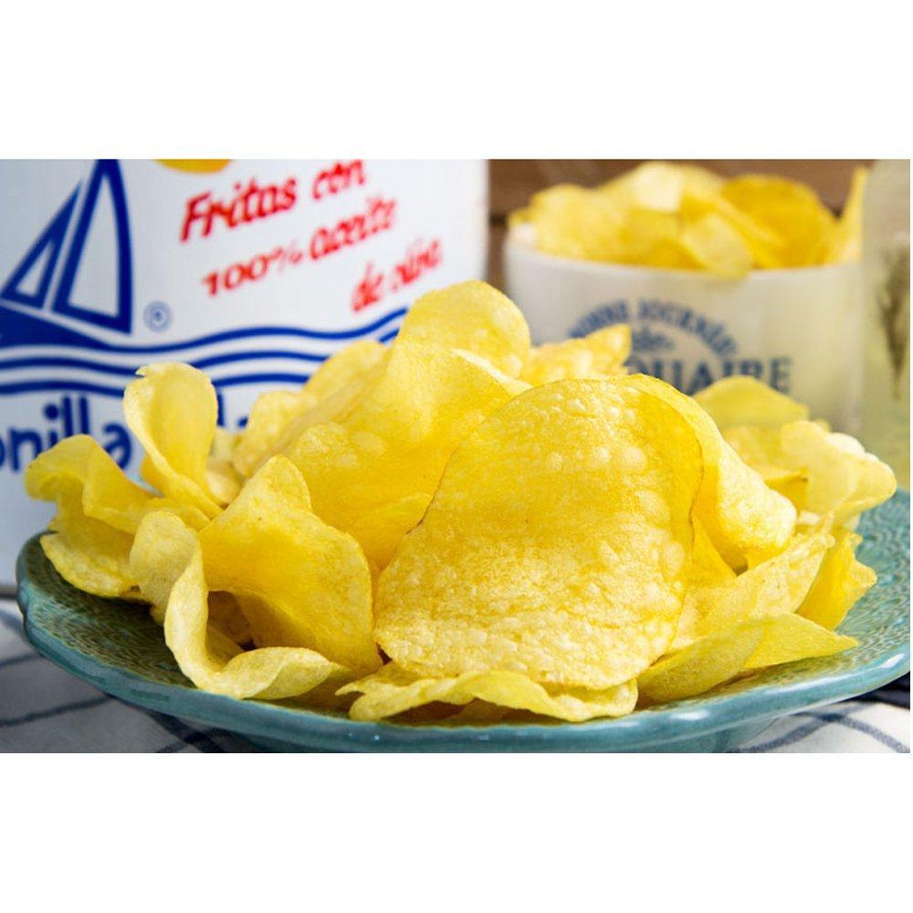 Bonilla a la Vista Snack Potato Chips Since 1932 Made in Spain, 500g by Bonilla (Image #4)