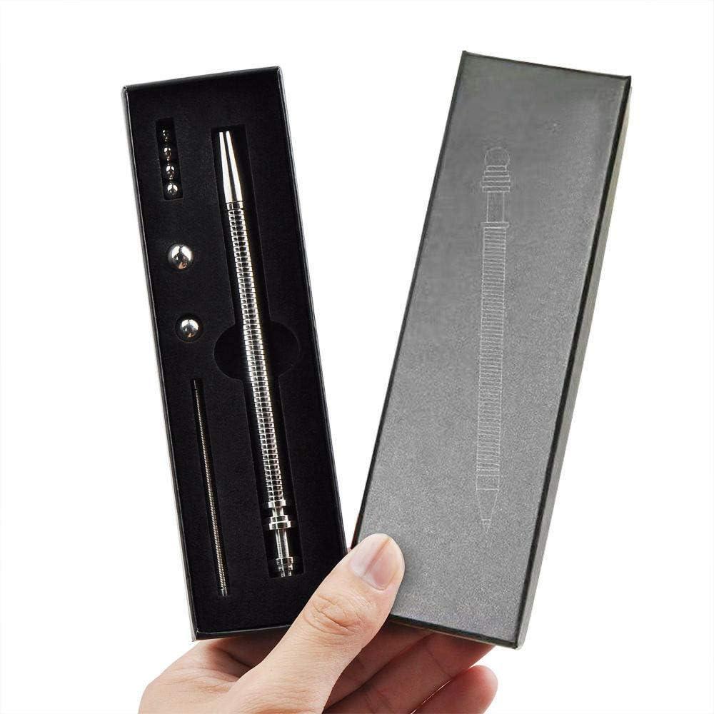 Fidget Spinner Pen Hand Gear Fidget Anxiety Stress Kids Desk Toy Gift O2F4
