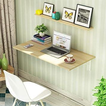 WCZ Mesa de pared creativa para el hogar Mesa plegable simple para ...