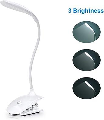 SENDIS LED- Lámpara Escritorio con Panel Táctil Lámpara de Lectura ...