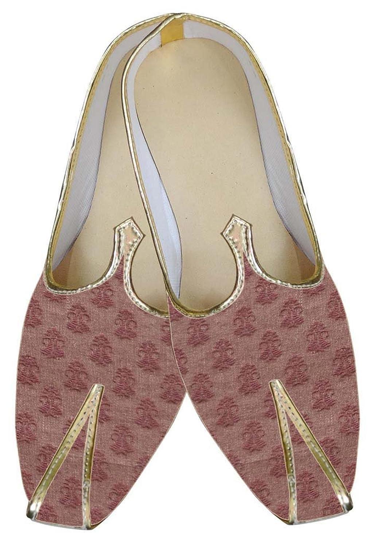 INMONARCH Hombres Boda Zapatos Moda Marrón MJ0011 -
