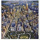 puzzle of new york city - Dowdle Folk Art Puzzles - New York City Puzzle, 1000 Pieces