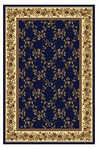 Radici USA Noble Rug 3.3 ft. x 5.4 ft. in Blue