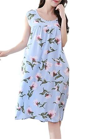 Imprimés De Chemises Besthoo Pyjamas Floral Nuit Femme Robe ZwYpfH