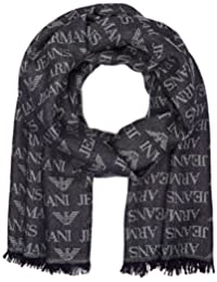 A|X Armani Exchange mens All Over Eagle Logo Scarf