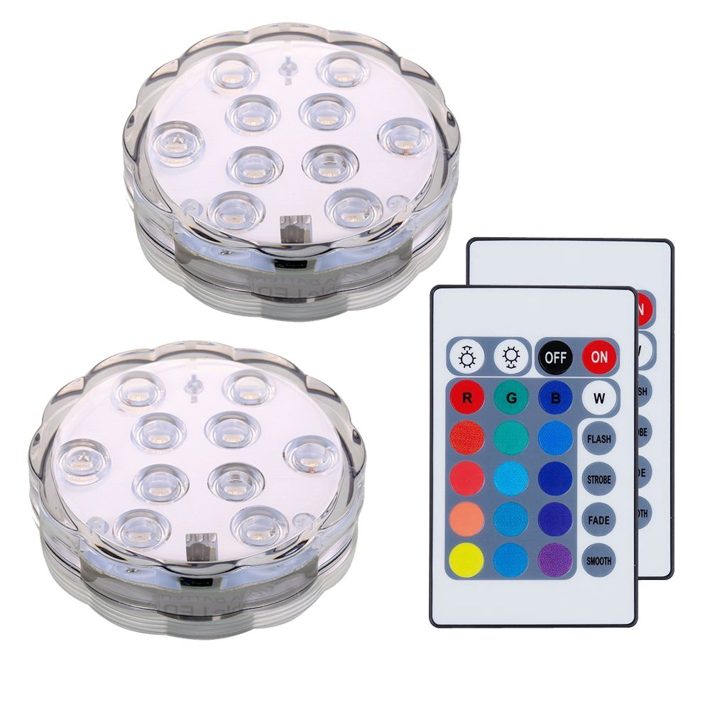 Lifeholder LED Unterwasser Licht, RGB Farbwechselnde und ...