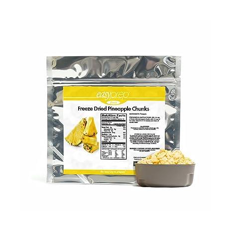 Amazon.com: EasyPREP – Cucharillas de piña secas a ...