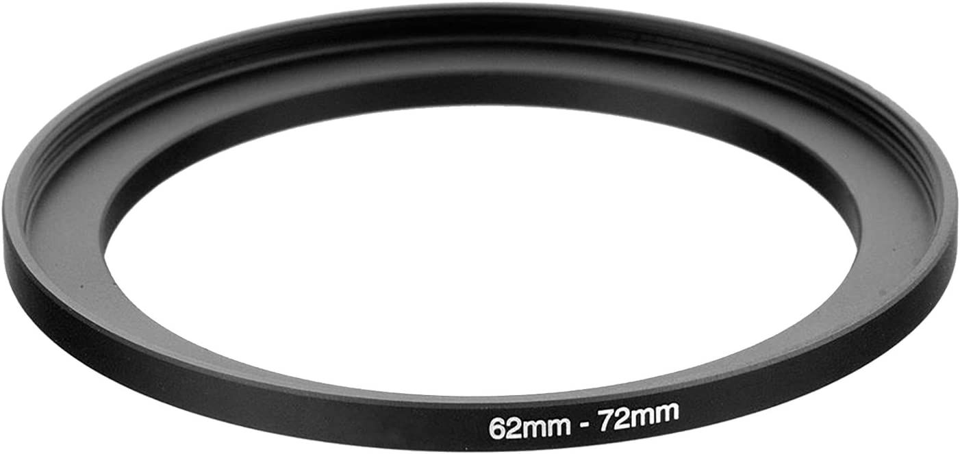 UltraPro Step-Up Adapter Ring 58mm Lens to 72mm Filter Size